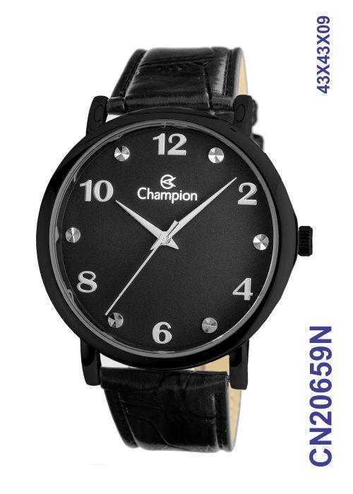 Relógio Masculino Original Champion CN20659N Preto