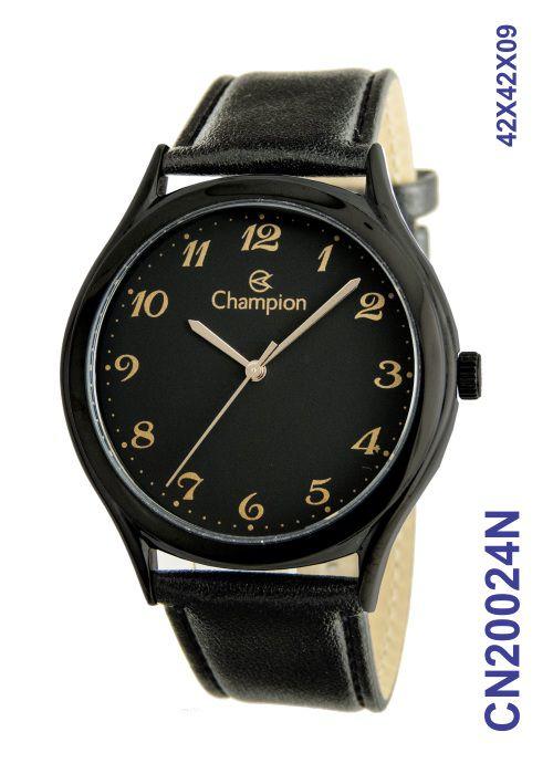 Relógio Masculino Social Champion CN20024N Preto