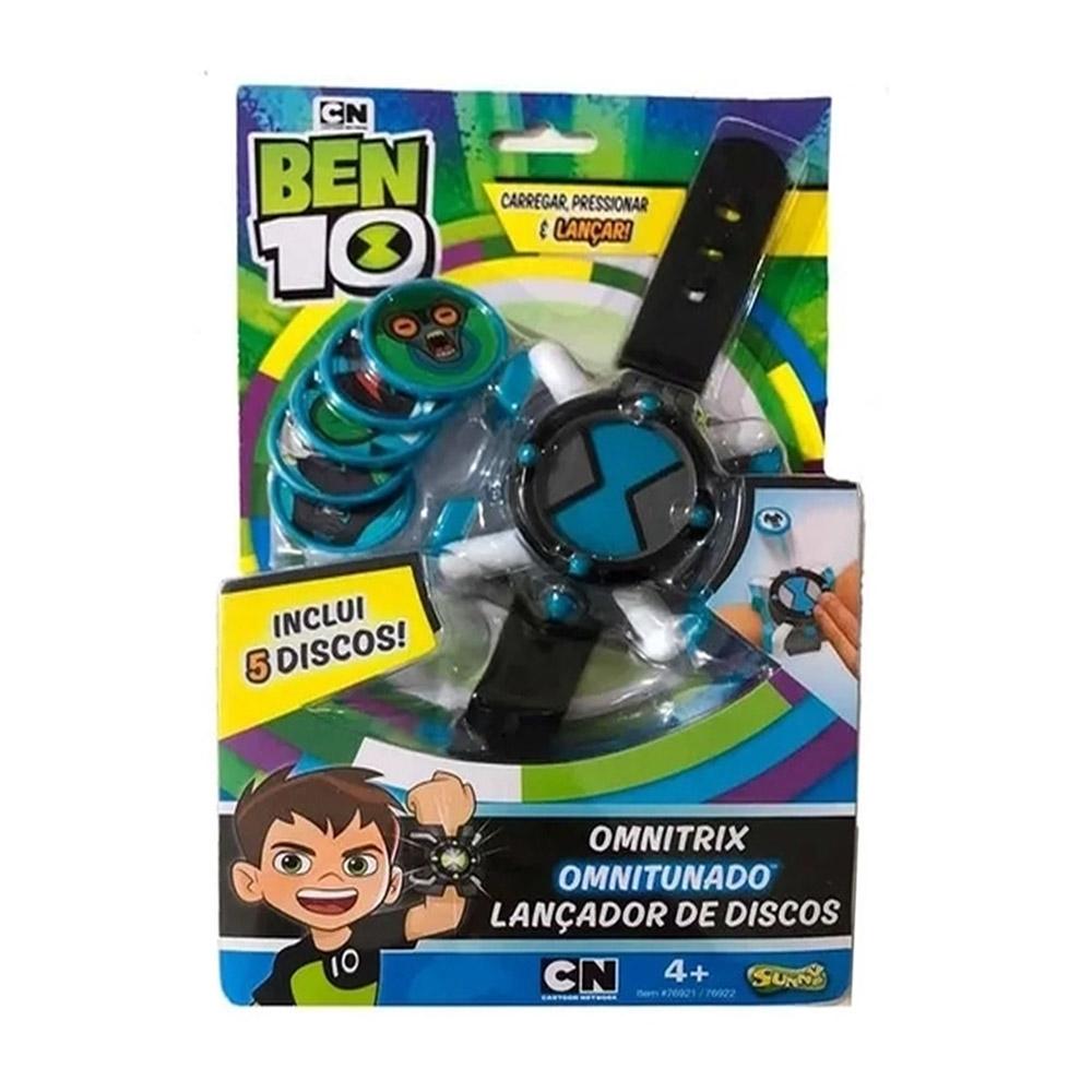 Relógio Omnitrix Do Ben 10 Lançador De Discos Sunny 1759