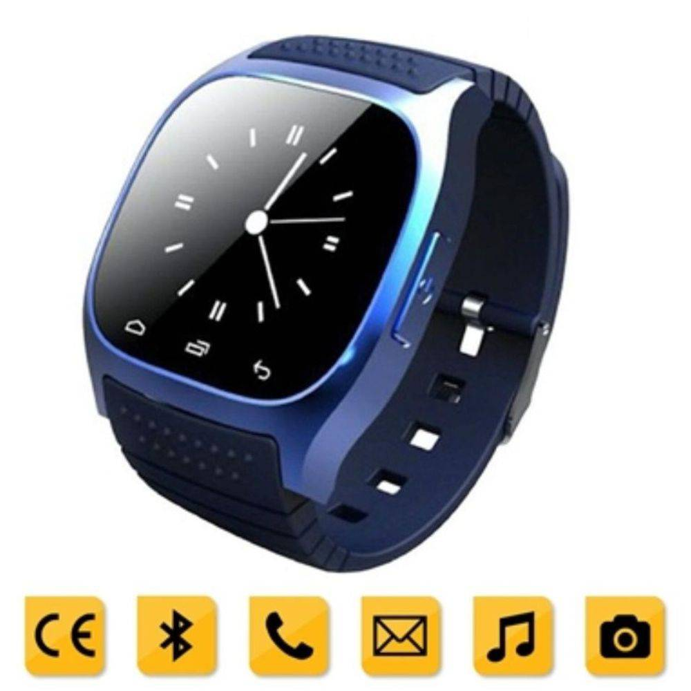 Relógio Smart M26 Bluetoot Touch Display Led Android - DUPL