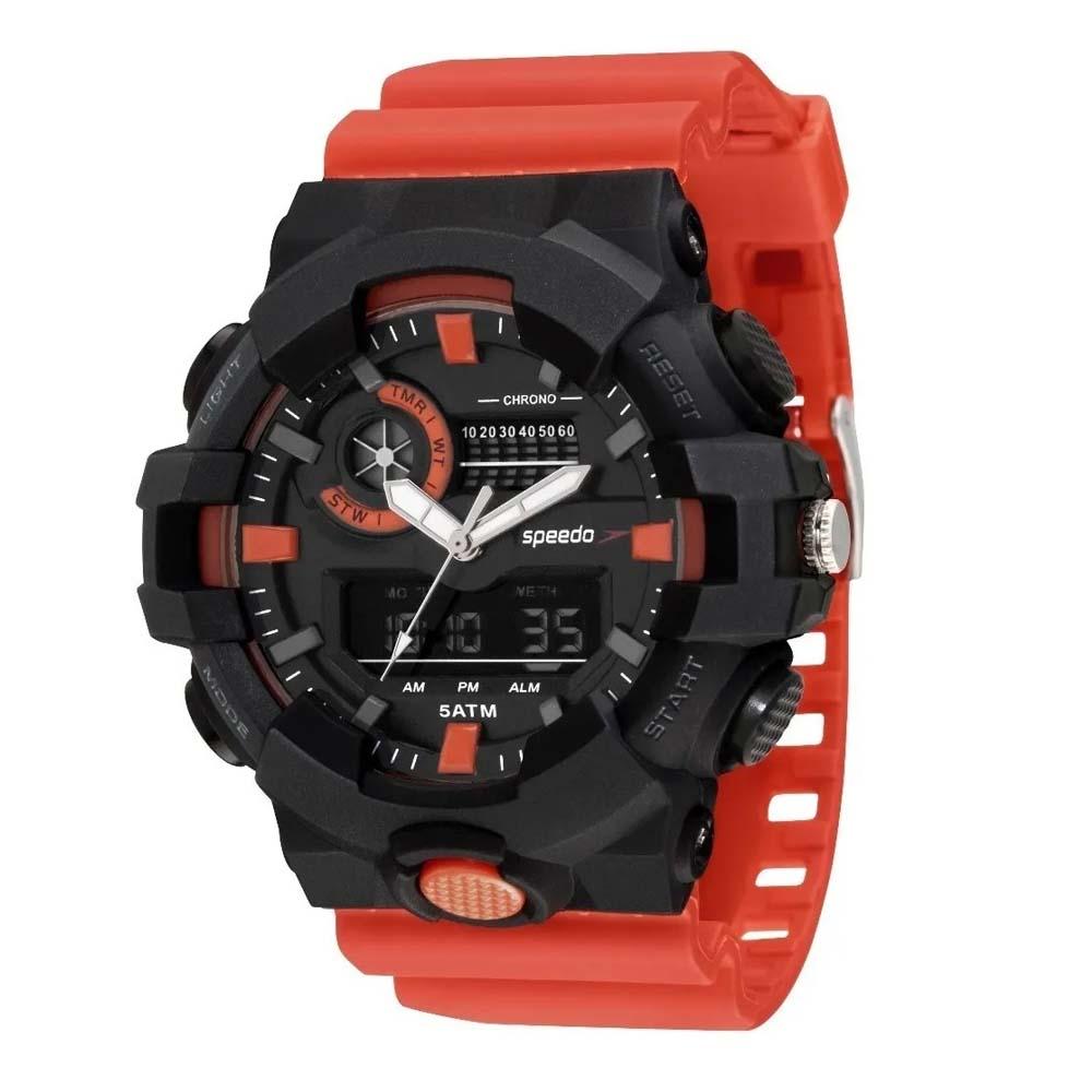 Relógio Speedo Masculino Original  81156g0evnp2 Big Case Anadigi Com Garantia 1 Ano