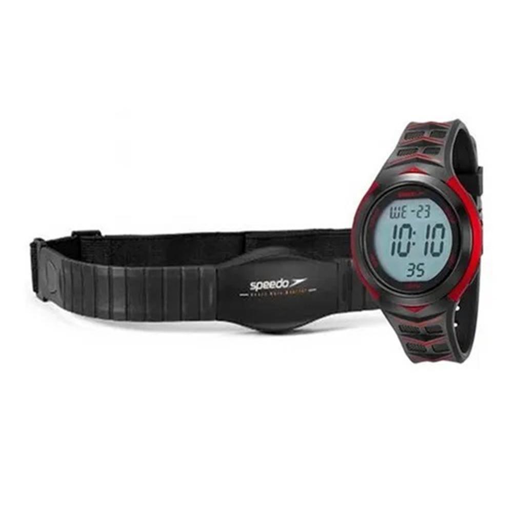 Relógio Unissex Speedo Monitor Cardíaco 80621g0evnp1 Verm.