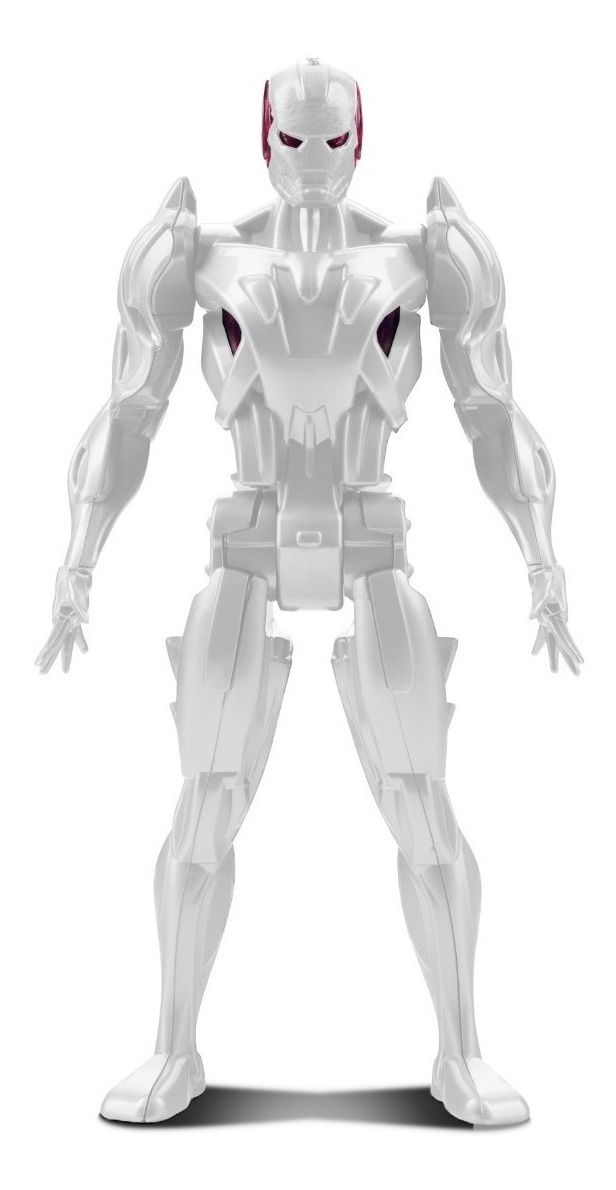 Robô Super Vilão Mist-man - Articulado - Tiger Squad - Roma