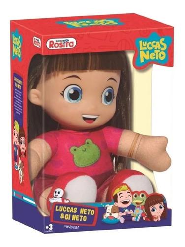 Rosita Luccas Neto & Gi Neto Boneca Gi Neto Versão Mini 107
