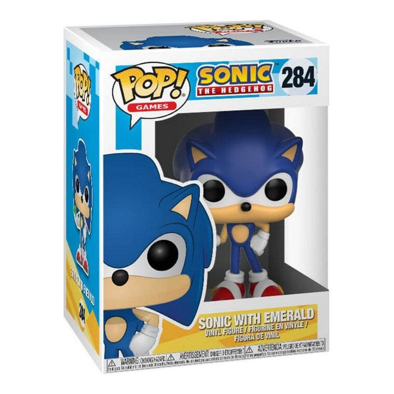 Sonic With Emerald - Pop Funko 284