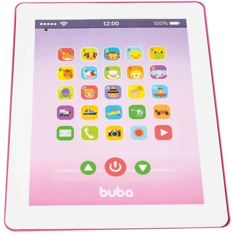 Tablet Divertido Infantil Musical Menino Menina Buba