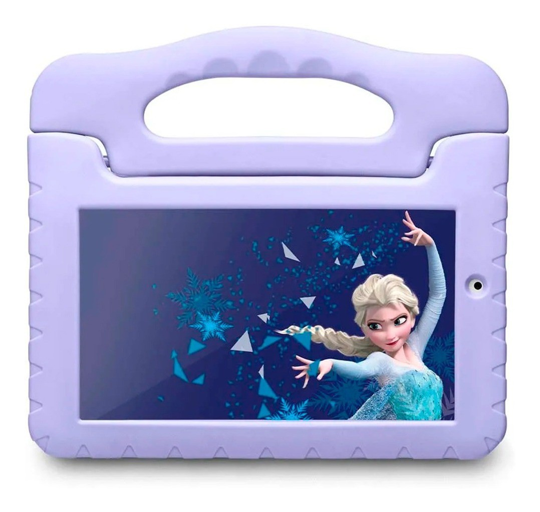 Tablet Infantil Frozen 16gb Wifi Camera Quadcore Android 7.0