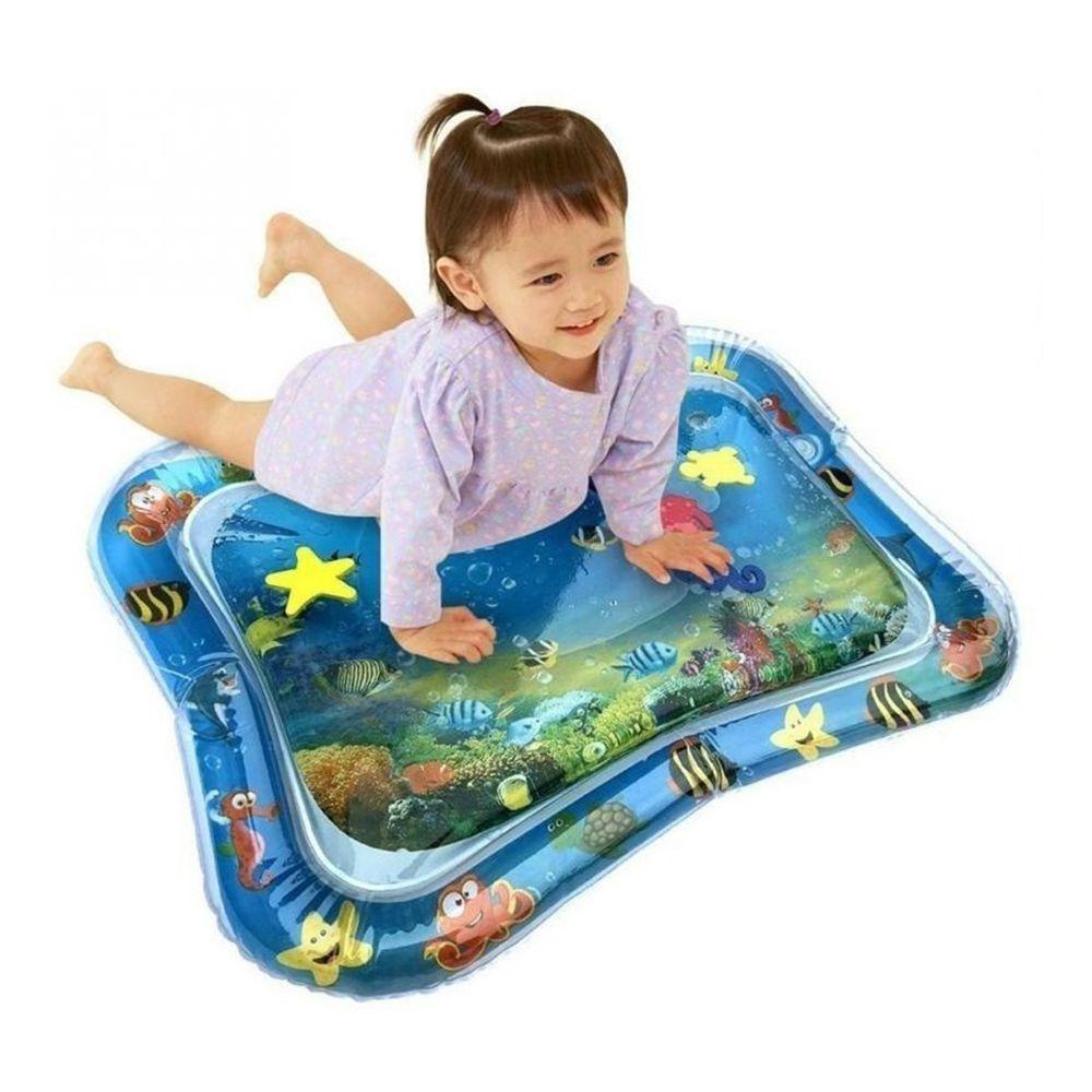 Tapete De Água Inflável Bebê Atividades Almofada Infantil