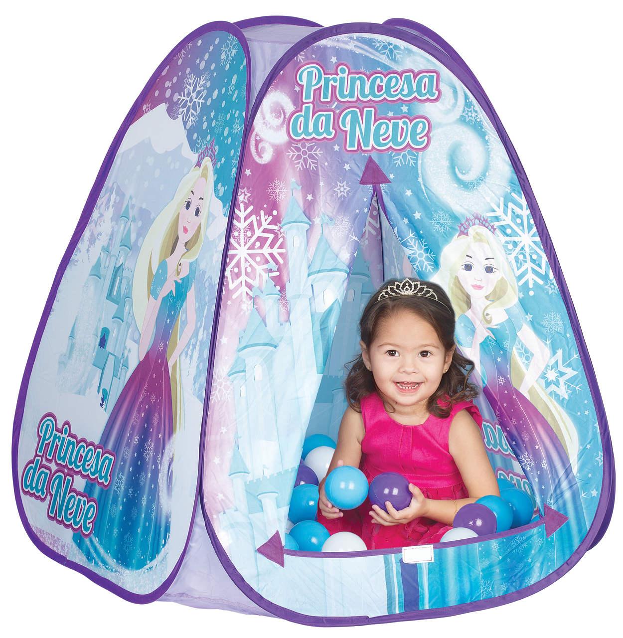 Toca Princesa Da Neve Monta Fácil Sacola 820-8 Braskit