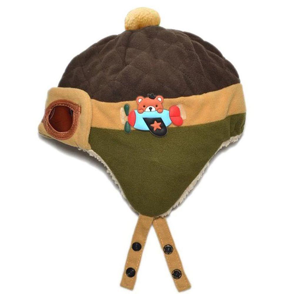 Touca - Gorro - Chapéu Aviador Infantil - Piloto - Bebês
