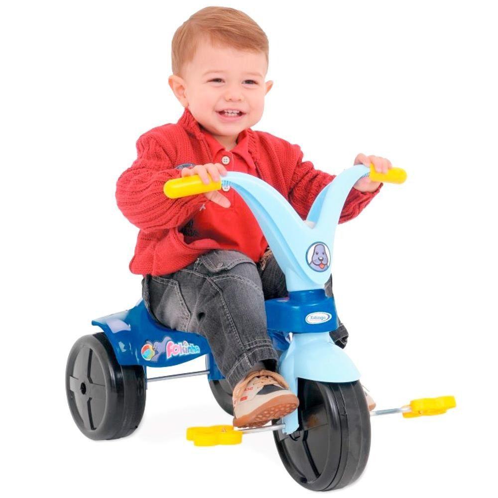 Triciclo Xalingo Fokinha, Azul