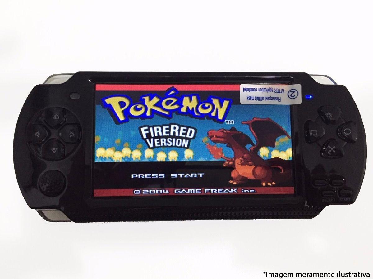 Video Game Portátil Mp3 Mp4 Mp5 Tipo Psp Com Varios Jogos
