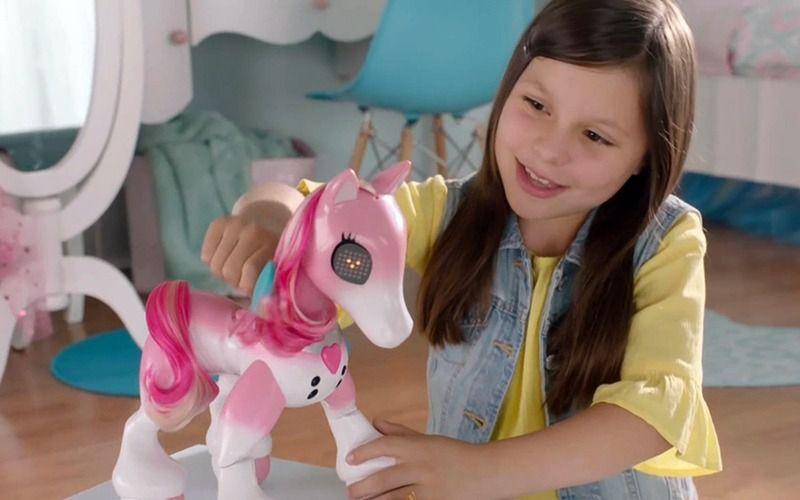 Zoomer Show Pony Som E Luz Interativo Poney Sunny 1943