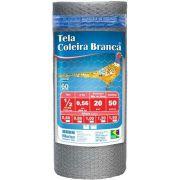 Tela Viveiro 1/2 26x1,50x50m Coleira Branca Morlan