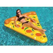 Boia Piscina Inflável Especial Gigante Pizza Bel