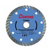 Disco Corte Diamantado Turbo 230mm Cortag