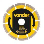 Disco Diam 125mm Segmentado Vonder