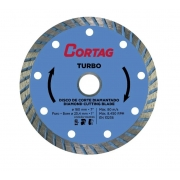 Disco Diam 180mm Turbo Cortag