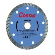 Disco Diamantado Turbo 254mm Cortag