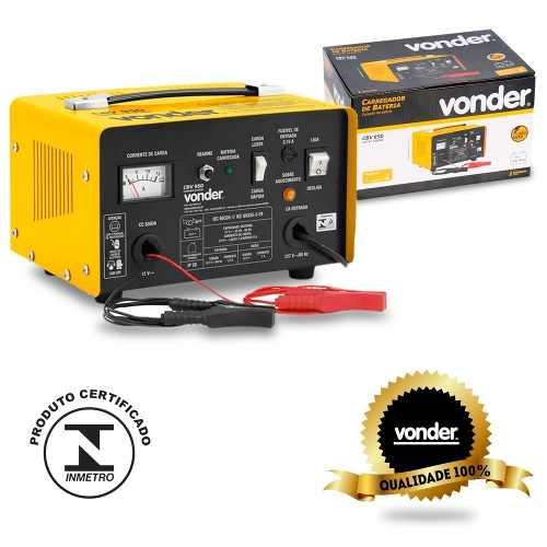 Carregador de Bateria Portátil 12 Volts CBV950 Vonder