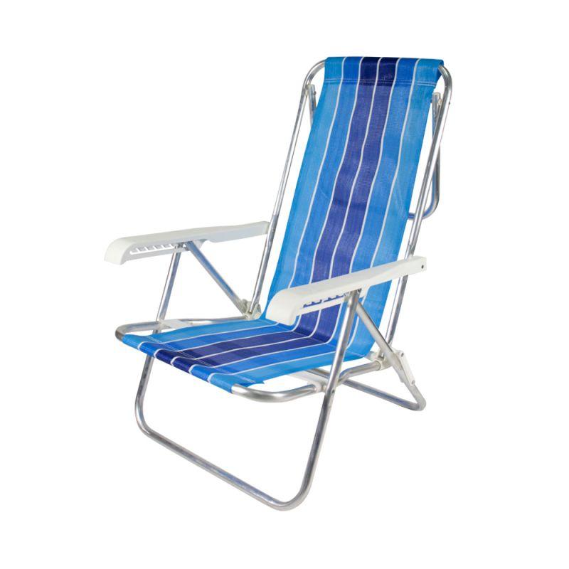 Cadeira de Praia Reclinável 8 Posições Belfix