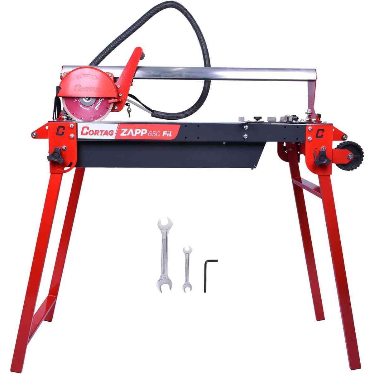 Cortador Pisos Profissional  Eletrico 650cm Zapp 650 FIT 220V Cortag