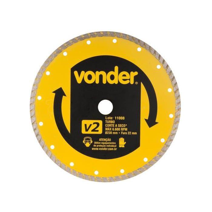 Disco Diam 230mm Turbo Vonder V2