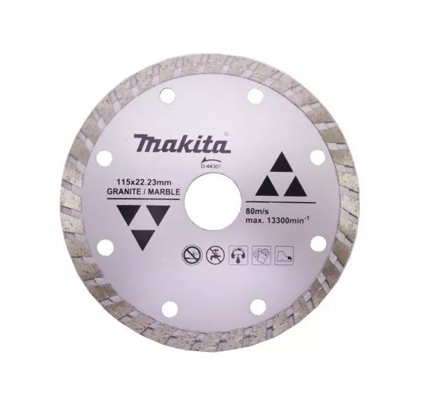 Disco Diamantado 115X22,23mm Turbo D-44301 Makita