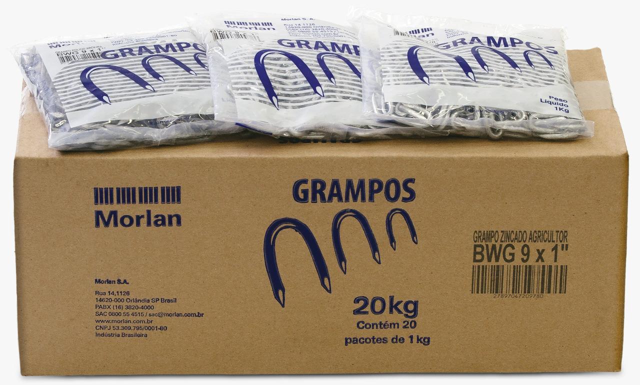Grampo Cerca 16x10 Polido Morlan