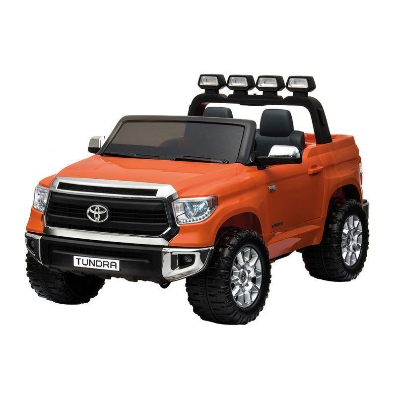 Jipe Elétrico Infantil Toyota Tundra Laranja Jj2255 24v 2 lugares Belfix