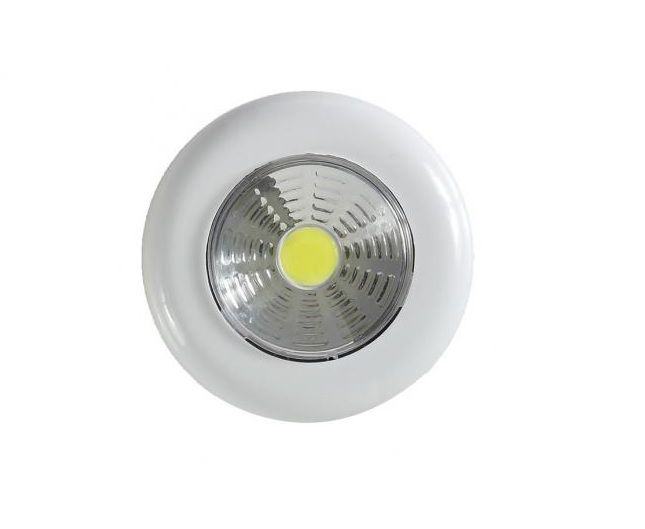 Luminária Touch Light Led 1,5w Signature Redonda Avant