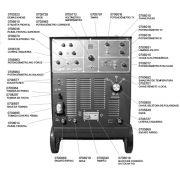 VISTA EXPLODIDA PEÇAS P/ DPT 350HD - EUTECTIC