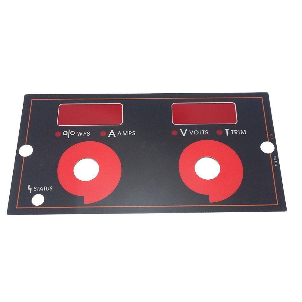 ADESIVO DISPLAY CONTROLE LINCOLN ELECTRIC 9SM18760