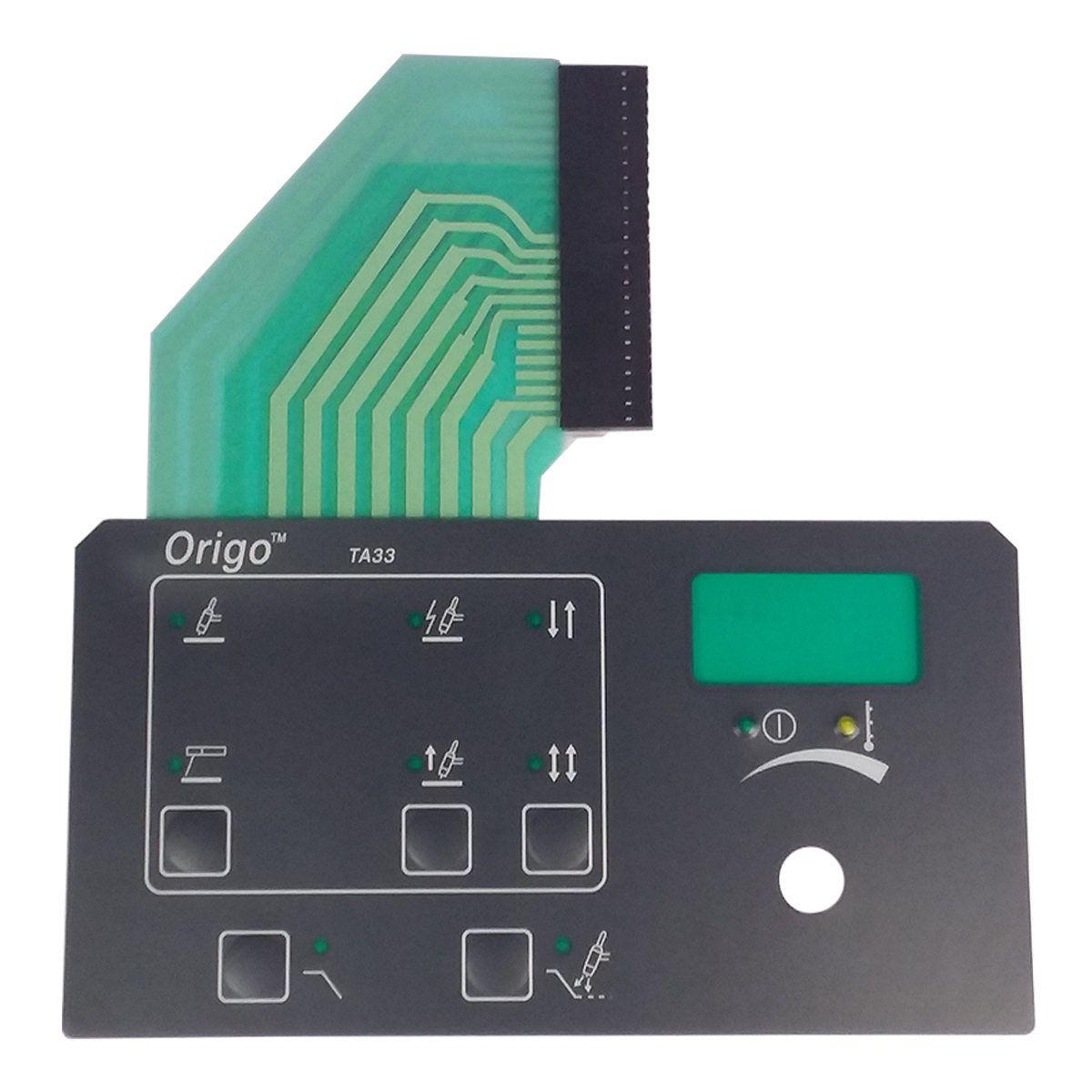 CIRCUITO ELETR. CONTROLE DO PAINEL ORIGO TIG HF 0904950 ESAB