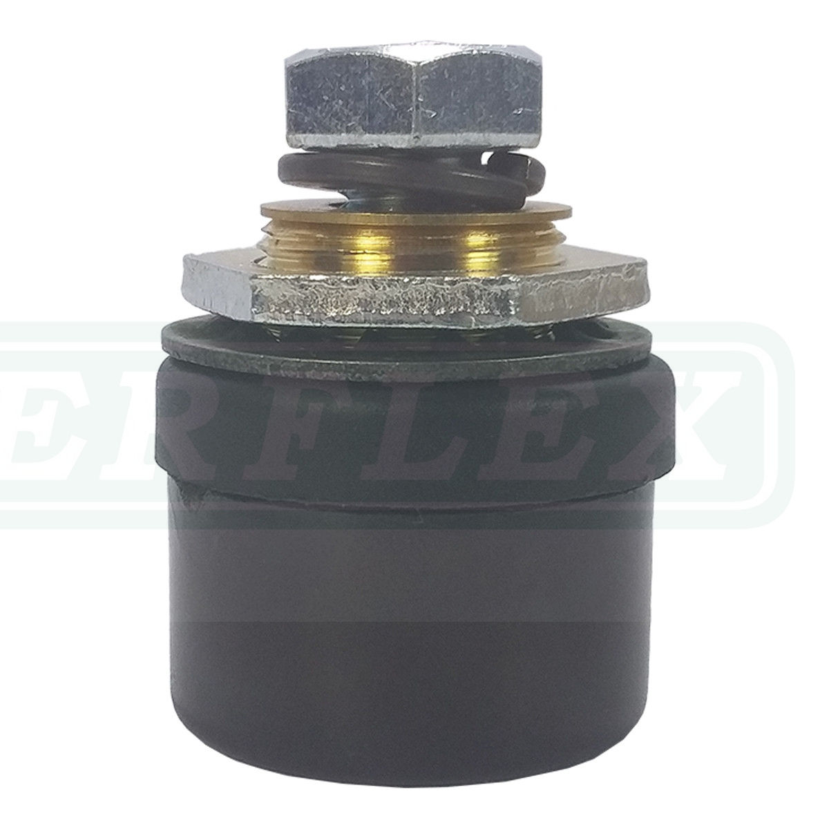 CONECTOR FÊMEA PAINEL 12.8MM 500 AMP EXT 38MM 0908413 ESAB