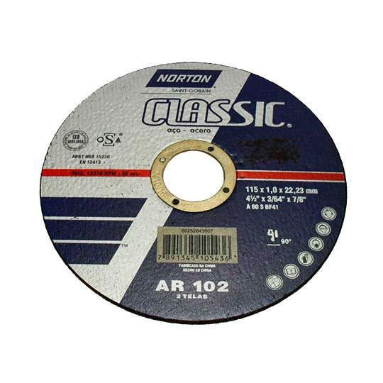 DISCO CORTE FINO 115.0 X 1.0 X 22.22 CARBORUNDUM 66252843967