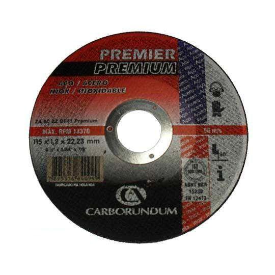 DISCO CORTE PREMIER 114.3X1.2X22.22 CARBORUNDUM 66252837057