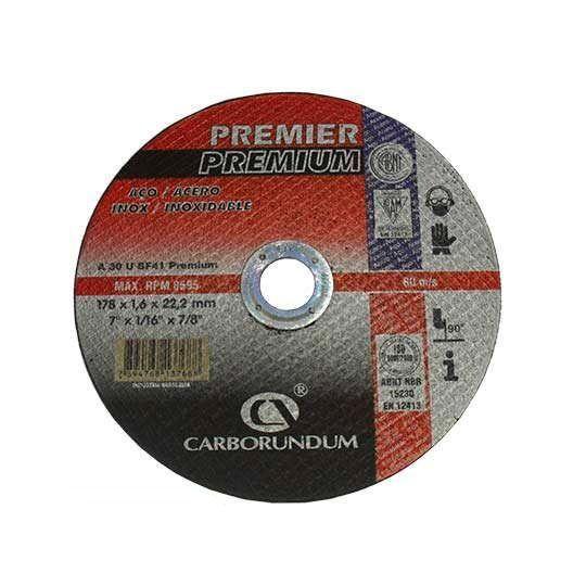 DISCO CORTE PREMIER 177.8X1.6X22.22 CARBORUNDUM 66252834655