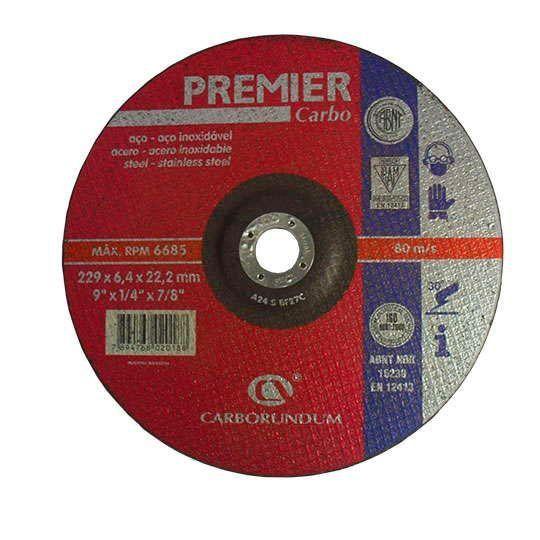 DISCO DESBASTE PREMIER 228.6X6.4X22.22 CARBORUN 66252841101