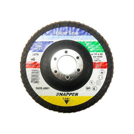 DISCO FLAP SNAPPER GR 040 115 X 22 SIA F03E.004.516-M00