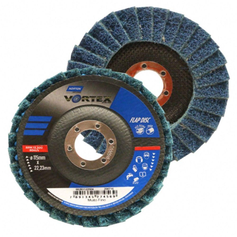 DISCO FLAP VORTEX 115 X 22 FINO - NORTON