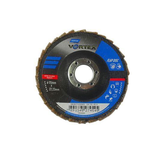 DISCO FLAP VORTEX 115 X 22 GROSSO MARROM NORTON 66261122500