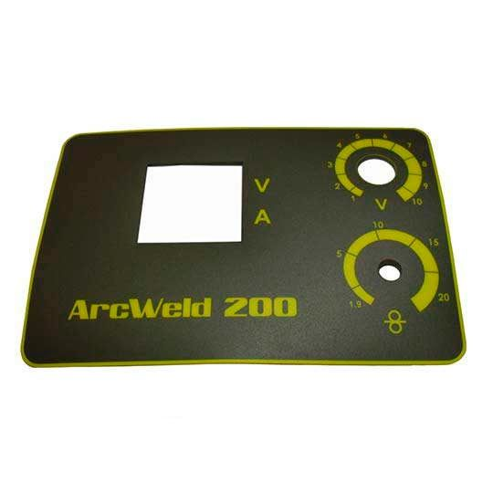 ETIQUETA ADESIVA PAINEL FRONTAL ARCWELD 200 EUTECTIC 0710455