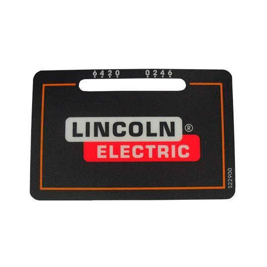PLACA ADESIVA S22900 LINCOLN ELECTRIC