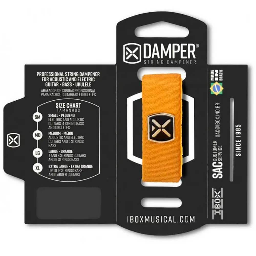 Abafador de Corda Ibox DTSM25 Damper Premium Pequeno Amarelo