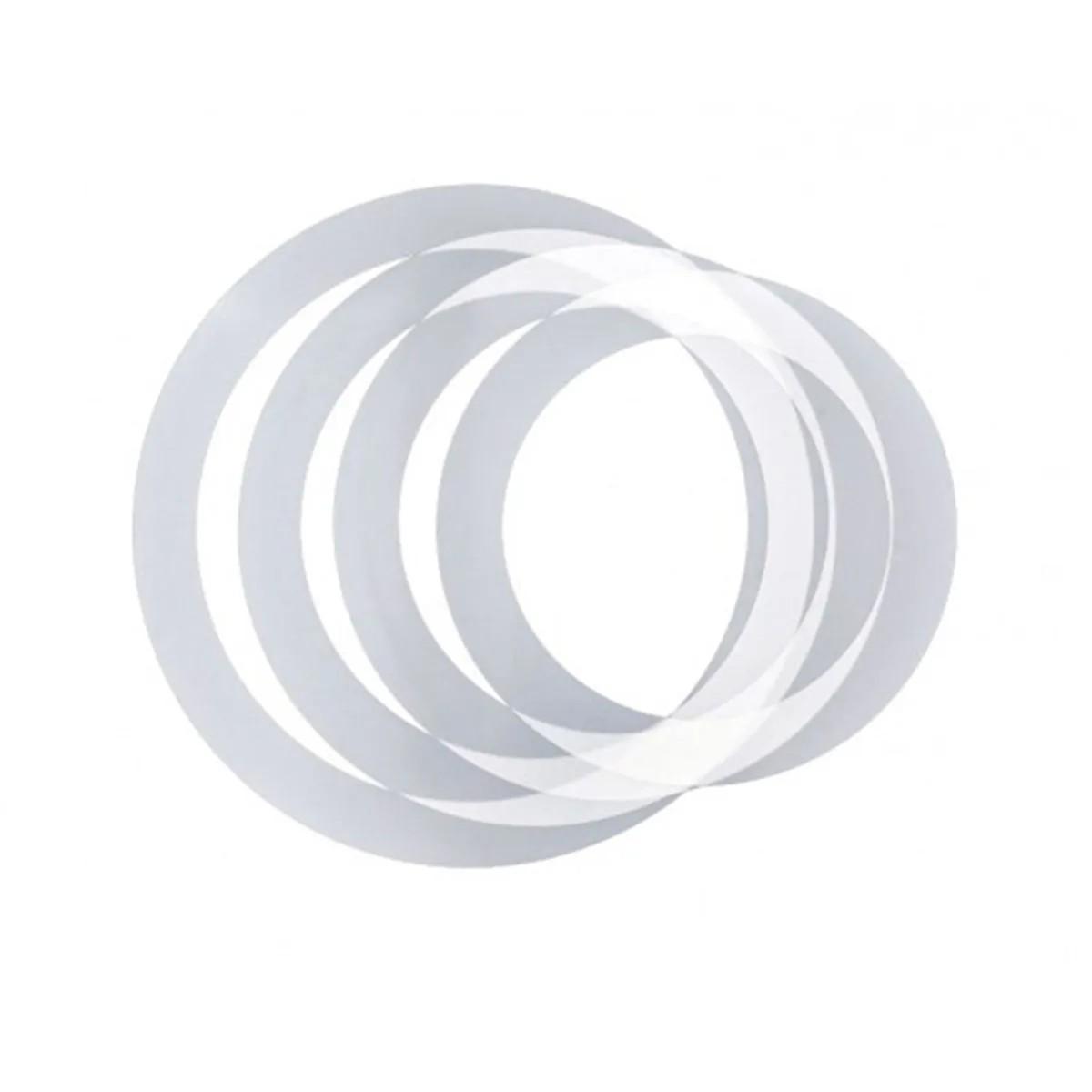 Abafadores Phx Music DH1216 Muffle Rings em PVC para Bateria