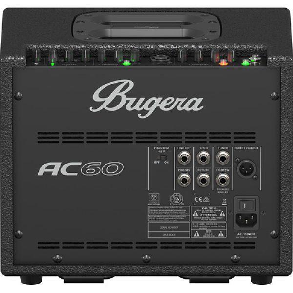 AC60 - AMPLIFICADOR 60W - 2 CANAIS - BUGERA