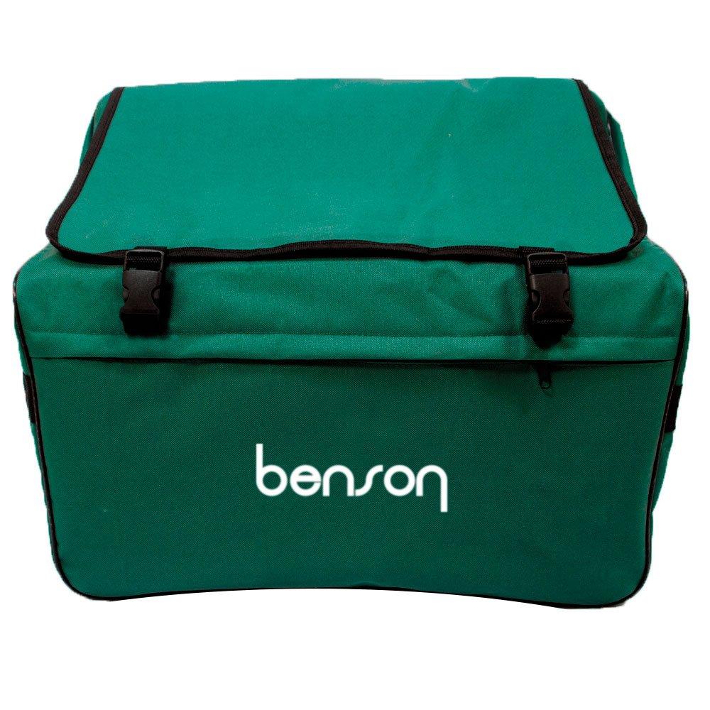 Acordeao 8 baixos Benson BAC08PBK preto perola c/22 teclas