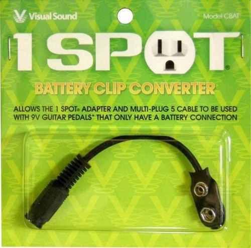 Adaptador Visual Sound Cbat para Bateria 9V