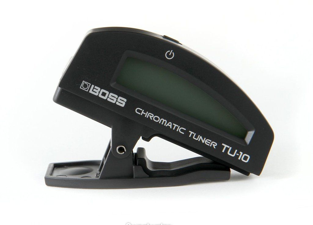 Afinador Cromático Digital Boss TU10 Clip On Black